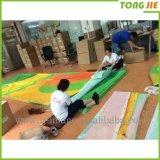 옥외 광고 물자 잉크 제트 Pringitng PVC 비닐 메시 기치