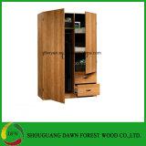 Estilo africano E2 Mobiliário Quarto roupeiro com espelho
