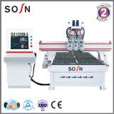 Machines van de houtbewerking 3 CNC van de As Router voor Houten Knipsel en Gravure