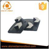 Стрелка делит на сегменты конкретный меля диамант трапецоида