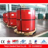 Sinal de aço Prepainted da bobina PPGI Ral 3001 vermelho