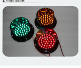 Custom Mold PC 100mm Red LED Traffic Light Parts