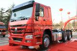 공장 가격 Cnhtc 6X4 HOWO 트랙터 트럭 Rhd 371HP
