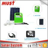 Mini 10W Enegry Solaire système/Système solaire portable pour phares, ventilateurs