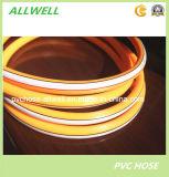 Шланг трубы брызга воздуха давления PVC пластичным высоким усиленный волокном Braided