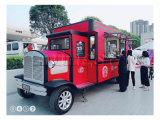 De nieuwe Ontworpen Multifunctionele Vrachtwagens van het Voedsel van de Straat/de de Mobiele Aanhangwagen van het Voedsel/Bestelwagen van het Voedsel