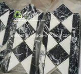 M501 Черный мрамор Marquina мозаика для кухни ванной комнаты мойки стены оболочка