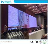Visuel à grand écran d'intérieur de l'étape HD DEL des vidéos P3