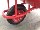 3.50-7車輪が付いているトルコの市場の手押し車