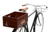 Bicicleta Cesta de la parte trasera de madera estado de la caja para bicicleta bicicleta
