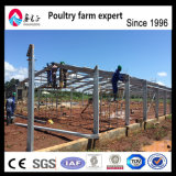 プレハブの家禽の家の肉焼き器の養鶏場装置
