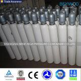150 médicos de 10L de la barra de cilindro de oxígeno de acero con válvula ISO9809-3 Qf-2