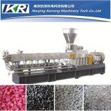 Pellets de plástico que fazem a máquina da extrusora