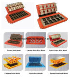 Gerät für Kleinunternehmen zu Hause! ISO-Bescheinigungs-preiswertester Kleber-konkreter hohler Block, der Maschine Qtj4-40b2 herstellt