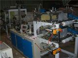 Rllb zwei Zeile Plastikabfall-Beutel-Rolle, die Maschine mit Kern herstellt