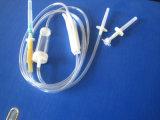 Beschikbare Infusie die met Ce en ISO wordt geplaatst