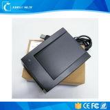 CE, FCC, RoHS, viruta portátil UHF RFID HF Lf lector de tarjetas de crédito