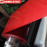 Strato d'acciaio galvanizzato ricoperto di colore rosso PPGI in bobina