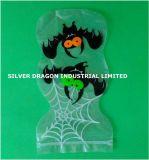 Sac de plastique en forme spécial imprimé avec sac ziplock, Holloween