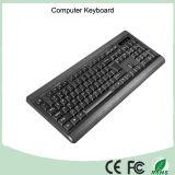 Клавиатура компьютера USB испанского плана нормальная связанная проволокой (KB-1802)