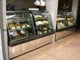 주문을 받아서 만들어진 친절한 고품질 케이크 전시 냉장고