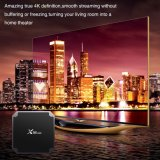 Caixa superior ajustada esperta Android Amlogic S905W Kodi da caixa da tevê de X96mini Media Player 17.3