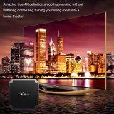 X96mini TVボックス人間の特徴をもつスマートセットの上ボックスAmlogic S905W Kodi 17.3のメディアプレイヤー