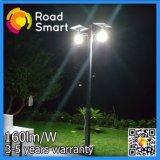 indicatori luminosi solari della strada della via LED del giardino esterno di 12W con la batteria di litio