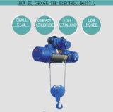 러시아에 있는 소형 전기 호이스트 100kg를 포장하는 합판