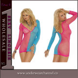 Newest Mesdames Nightwear Baby doll sexy Lingerie Lingerie21522-2 Set (T)