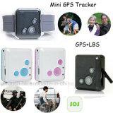 Самый малый миниый отслежыватель GPS с кнопкой Sos для малышей/пожилого V16