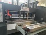 Impressão Flexográfica ondulado totalmente automático para escatelar máquina de embalagem