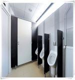 Используемая перегородка кабины туалета ламината компакта школы материальная
