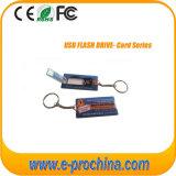 Dünnes Kreditkarte USB-Blitz-Laufwerk mit farbenreichem Drucken für Freesample