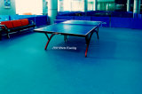 Sports d'intérieur de PVC de courts de tennis de Tableau parquetant avec la norme d'Ittf
