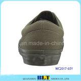 Baixas sapatas dos homens da sapatilha (WC2017-65Y)