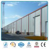 La Chine a préfabriqué l'entrepôt de construction de structure métallique de lumière d'usine de construction