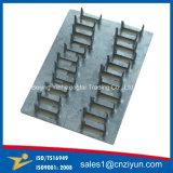 Fabricación de la placa de acero galvanizado, pista de las uñas