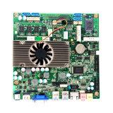 Бортовая материнская плата Fanless 1037u RAM 4GB с 4*USB/VGA/24bit Lvds