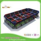 Подгонянная кровать нового мягкого Trampoline Xiha крытая скача
