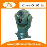 Macchina fotografica doppia robusta montata su veicolo di registrazione di immagini termiche dell'obiettivo