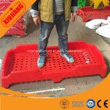Mobiliario escolar fábrica de plástico cama jardín de infancia para niños