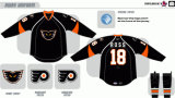 Customized Homens Mulheres Crianças Liga de Hóquei Americana Fantomas Adirondack 2009-2014 Home Road Hóquei no Gelo Jersey