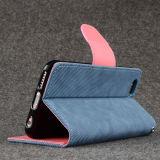 Cartera de cuero Flip caso de la tarjeta de crédito para iPhone 6s
