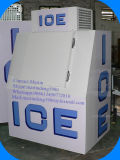Especialista das técnicas mercantís ensacado do gelo da parede do uso sistema frio ao ar livre com porta inclinada