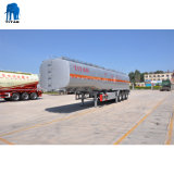 Tri-Axle 50000 litres à liquide de citerne semi-remorque-citerne en acier inoxydable