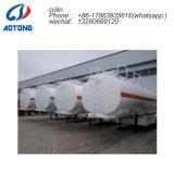 화학 액체 양을%s 적당한 반 탱크 수송 트레일러: 43.6m3