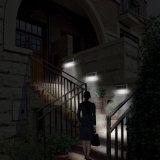 Solargarten-Straßenlaternemit Sesnor PIR Solarwand-Fühler-Licht