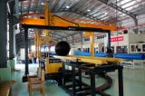 Máquina de fusão de extremidade de tubos de PEAD 90-315