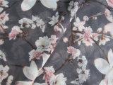 Polyester Chiffon- Velvet mit Printing
